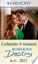 Cofanetto 4 Harmony Destiny n.53/2021