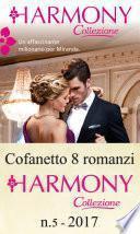 Cofanetto 8 Harmony Collezione n.5/2017