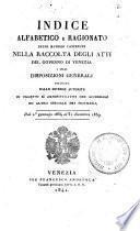 Collezione di leggi e regolamenti pubblicati dall'Imp. Regio Governo delle provincie Venete