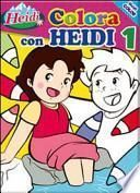 Colora con Heidi. Heidi
