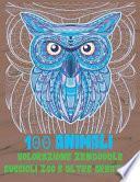 Colorazione Zendoodle - Cuccioli Zoo e altre creature - 100 Animali