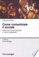 Come comunicare il sociale