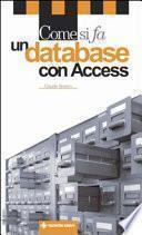 Come si fa un database con Access