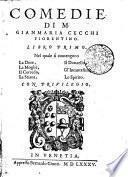 COMEDIE DI M. GIANMARIA CECCHI FIORENTINO.