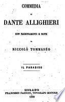 Commedia di Dante Allighieri