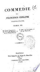 Commedie di Francesco Cerlone napolitano tomo primo (-22.)