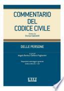 Commentario del Codice Civile - Delle persone - artt. 1-10