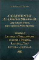 Commento al Corpus Paulinum