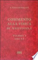 Commento alla fisica di Aristotele - vol. 3 (Sententia super Physicorum)