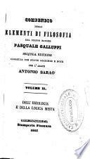 Compendio degli elementi di filosofia