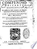 Compendio dell'arte essorcistica...Girolamo Menghi