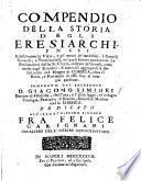 Compendio della storia degli eresiarchi ... A ... ciò aggiugnesi la descrizione del regno di Corsica, etc