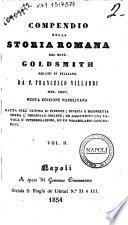 Compendio della storia romana del dott. Goldsmith