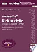 Compendio di Diritto civile (Istituzioni di diritto privato)
