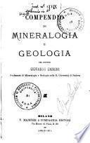 Compendio di mineralogia e geologia