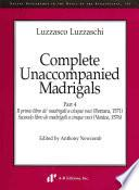 Complete Unaccompanied Madrigals, Part 4