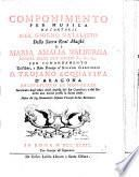 Componimento da cantarsi nel giorno natalizio ... di Maria Amalia Walburga Regina delle due Sicilie