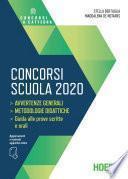 Concorsi scuola 2020