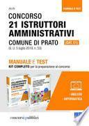 Concorso 21 istruttori amministrativi (cat. c1) Comune di Prato