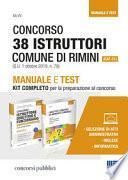 Concorso 38 istruttori Comune di Rimini (Cat. C1). Manuale e test. Kit completo per la preparazione al concorso