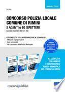 Concorso polizia locale comune di Rimini. 8 agenti e 10 ispettori