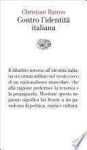 Contro l'identità italiana