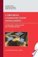 Corporate communication management