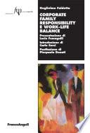 Corporate family responsibility e work-life balance