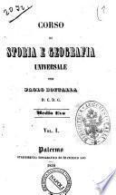 Corso Di Storia E Geografia Universale Per Paolo Bottalla Vol. I