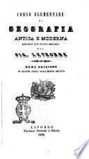 Corso elementare di geografia antica e moderna esposto con nuovo metodo dal sig. Letronne