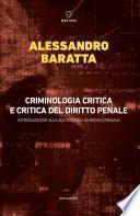 Criminologia critica e critica del diritto penale