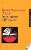 Critica della ragione informatica