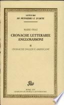 Cronache letterarie anglosassoni