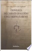 Cronologia dell'abbate Gioacchino e dell'Ordine florense