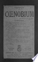 Cœnobium
