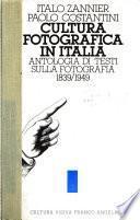 Cultura fotografica in Italia