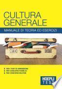 Cultura generale - Manuale di teoria ed esercizi