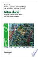 Culture shock?