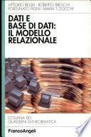 Dati e base di dati: il modello relazionale