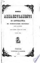 Degli ammaestramenti di letteratura libri quattro di Ferdinando Ranalli