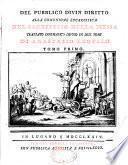 Del pubblico divin diritto alla comunione eucaristica nel sacrifizio della messa trattato dogmatico diviso in due tomi di Anastasio Leofilo