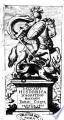 Dell'arte historica d'Agostino Mascardi trattati cinque