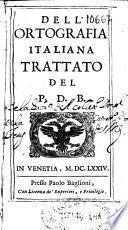 Dell'ortografia italiana