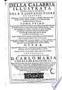 Della Calabria illustrata opera varia istorica