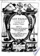 Della fabrica et uso di diversi stromenti di astronomia et cosmografia