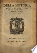 Della Historia Vinitiana Di M. Pietro Bembo Card. Volgarmente Scritta Libri XII