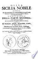 Della Sicilia nobile