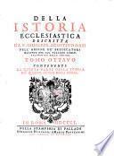 Della storia del quarto secolo della chiesa