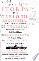 Della storia di Carlo XII Re di Suezia