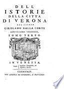Delle Istorie della Citta di Verona